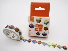 Japanese Donburi washi tape! Rice bowls, cute planner tape, kawaii food, foodie