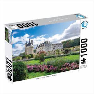 1000 Piece Jigsaw Puzzle - Chenonceau Castle, France