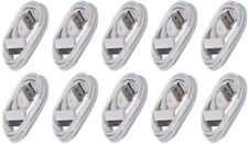 10x USB Sync Data Charging Charger Cable Cord fits iPhone 4 4S iPod Touch 4th Ge