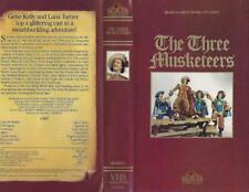 VHS:  THE THREE MUSKETEERS....LANA TURNER-GENE KELLY#