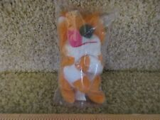 Barkley Dog pup Mini Beans Plush Sesame Street Kelloggs NEW in bag plush premium