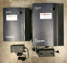 Panasonic KX-TDA50 Telephone SD Hybrid IP-PBX KX-TVA50 Voice Processing System