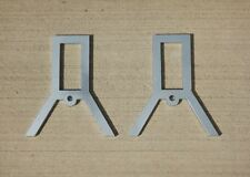 Target Gong Stand Brackets Just add 4 sections of pipe your length of 2x4 Rev. 2