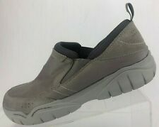 Crocs Swiftwater Edge Moc Walking Loafers Gray Dual Comfort Shoes Casual Mens 9