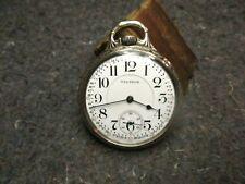 Watch/14K Gold Filled-Hamilton Rr Model/Beauty! Vintage Waltham 21 Jewel Pocket