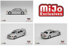 Mini Gt #170 Mijo Excl Silver Mercedes-Benz 190E 2.5-16 Evolution Ii Dtm Presale
