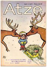 DDR ATZE Heft 11/1977 FDJ Verlag Junge Welt Fix und Fax *AZ68