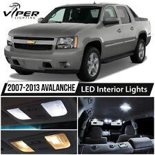 2007-2013 Chevrolet Avalanche White LED Interior Lights Package Kit