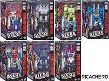 Transformers War for Cybertron Siege Voyager Starscream Springer WFC-S24 S25 New