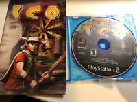 ICO Sony PlayStation 2 PS2 Game NTSC Disc and Manual Only