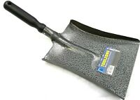Metal Coal Dust Shovel 8 Inch 200mm Wide Plastic Handle Gardening Soil BR035