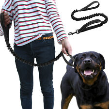 Nylon Dog Leash Stretch Elastic Bungee Dog Lead for Police K9 Outdoor Walking