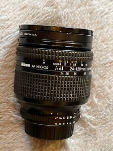 Nikon 24-120mm AF-D Nikkor, superb lens that every photojournalist used