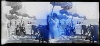 Francia Modalità Stampe Foto c1930 Negativo Placca Da Lente Vintage - VR16L1