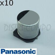 Condensateur 10µF 35V 105° SMD Panasonic FK 5x5.8mm EEEFK1V100R (lot de 10)