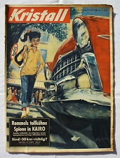 CRISTALLO 1957 n. 19: Rommel spie al Cairo/ipnosi/Lapponia