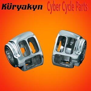 Kuryakyn Chrome Switch Housings For Harley Davidson Softails 1747