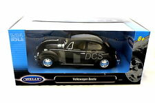Welly VOLKSWAGEN BEETLE BLACK 1/24  Diecast Car