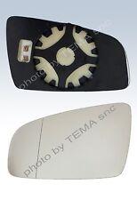 Specchio retrovisore OPEL Zafira 2005>2010 piastra agganc+vet.SX asferic TERMICO