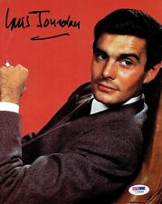 Louis Jourdan Signed James Bond Authentic Autographed 8x10 Photo PSA/DNA #I72549