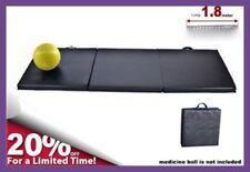 3-Fold PREMIUM 6-foot Folding Fitness Gymnastics Pilates Yoga Exercise Mat 180CM