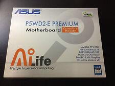 ASUS P5WD2-E Motherboard Pentium CPU 560J MSI Videocard X700Pro Corsair DDR2 RAM