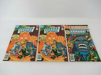 Justice League of America #154 #184 (1978-1980, DC) Lot of 3 NM 9.0