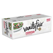 Vanity Fair Everyday Napkins, Disposable White 2-Ply Paper Napkins, 660 Count ✔�