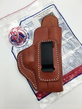 Cebeci IWB Brown Leather Holster with Comfort Tab, fits GLOCK 19 / 23, Right RH