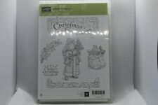 New Retired Father Christmas Stampin Up Rubber Stamps - 142125