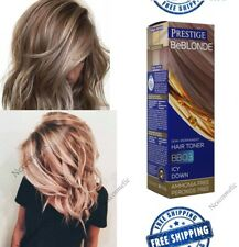 Grey Hair Icy Down Toner BB03 DYE BLOND HAIR 100ml NO AMONIA and PEROXIDE