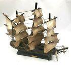 "Ship Replica Fragata Espanola Ano 1780 Spanish Warship Sail Boat Model Wood 15"""