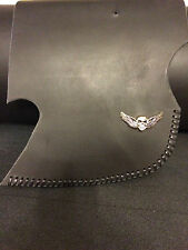 Harley Softail Tour Sportster Dyna Saddle Heat Shield Deflector LACED W/ CONCHO