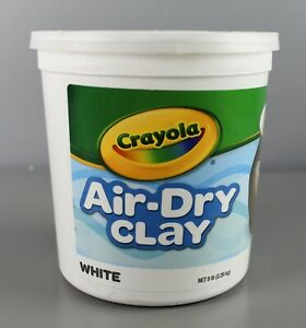 Crayola Air Dry Clay White 5 lbs Modeling [GS]