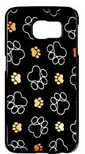 Cute Paws Paw Pattern Dog Cat Pet New Case Cover For Samsung Galaxy S6 S7 Edge