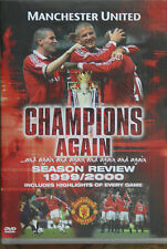 NEW! Manchester United Season Review 1999/2000 Champions Again DVD Man Utd FC