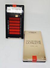 L'OREAL 'Colour Riche Lip Palette' 6 Cream Lipsticks RED New Sealed