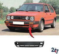 NEW VOLKSWAGEN GOLF MK2 1990-1992 BARE PLAIN FRONT BUMPER WITH FOG LIGHT HOLES