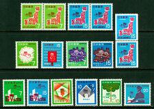 JAPAN 1968 - 73  POSTAL CODE CAMPAIGN - postman - MINT MNH