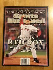 Boston Red Sox Sports Illustrated 2007 World Series Commemorative Pedroia Ortiz