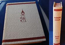 Michelsen & Licht Danmarks Kirker Århus Amt 1. Bind 1968 +English summary 1968