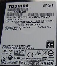 Toshiba 1TB  6Gbps Internal Hard Disk Drive