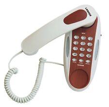 TELEFONO FISSO CON FILO A PARETE MURO UFFICIO CASA CAMERA PICCOLO HOTEL ALBERGO