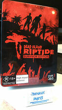 Dead Island Riptide Survivor Edition tin case and journal