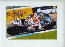 Hiroshi Aoyama Honda Moto GP Spanish GP 2011 Signed Photograph