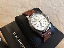 Hamilton Khaki Automatic Mens Watch, Leather Band