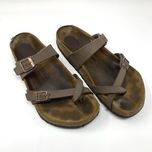 Birkenstock Women's Mayari Sandals 40 9 Brown Shoes Germany