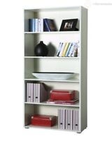 Composad libreria Ilio scaffale per ufficio cm 70x30x197 h colore bianco design