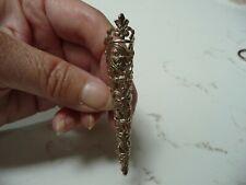 Vintage Sterling Silver Filigree Posey Nosegay Pin Brooch Tussie Mussie