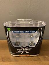 Sylvania Silverstar ZXE H11 Pair Set Headlight Bulbs Xenon Fueled